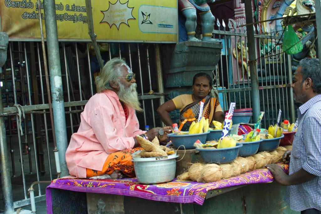retraite dans un ashram en Inde